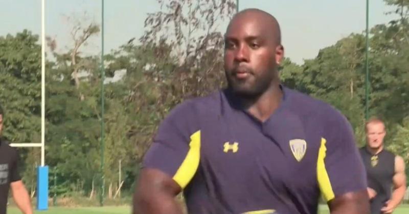 VIDÉO. Insolite : Teddy Riner devient rugbyman de l'ASM Clermont le temps d'un entraînement