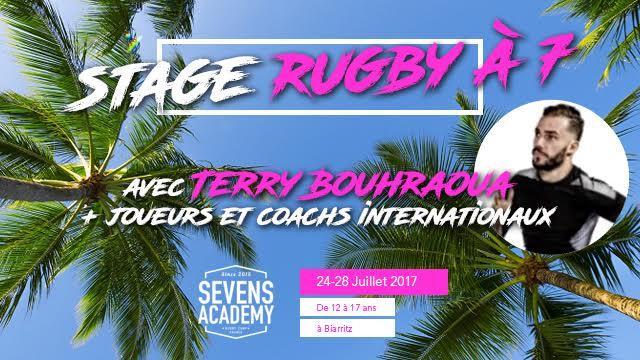 Rugby à 7, Surf et Beach Rugby : la Sevens Academy revient à Biarritz du 24 au 28 juillet prochain !