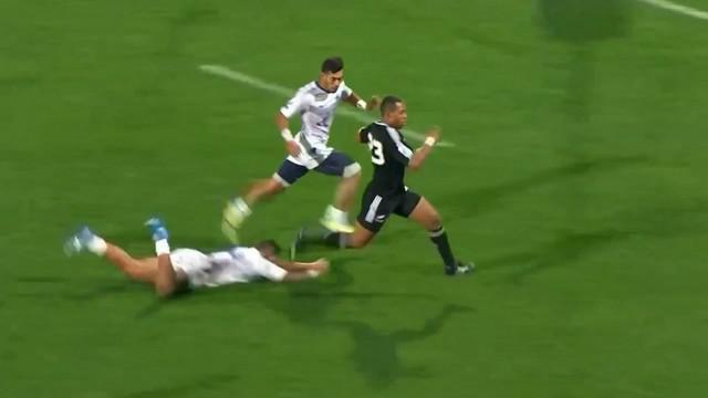 VIDEO. Championnat du monde U20. Tevita Li, future star du rugby néo-zélandais ?