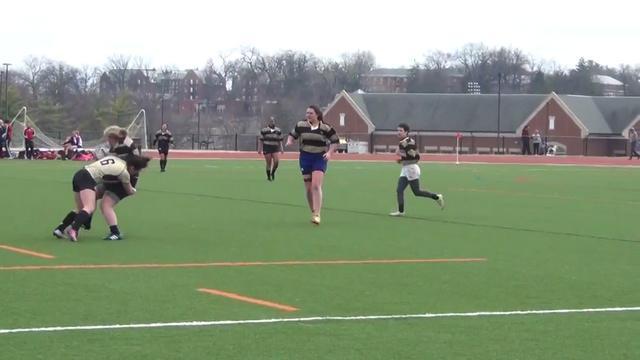 VIDEO. Rugby féminin. Tianna « KO » Camous distribue d'énormes caramels