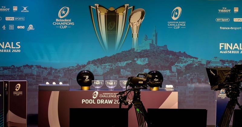 Suivez en direct vidéo le tirage au sort des poules de la Champions Cup et la Challenge Cup