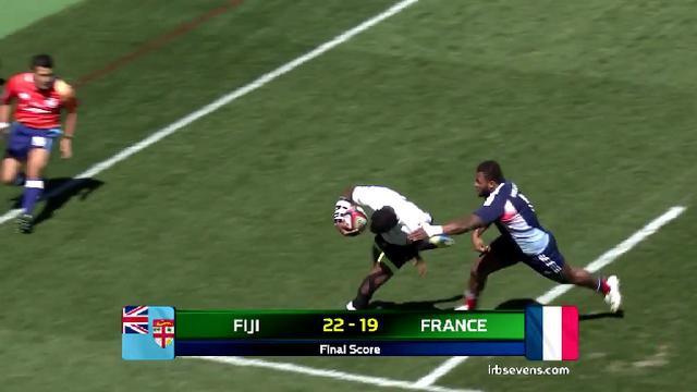 VIDEO. Tokyo Sevens. France 7 rate le coche face aux Fidji et jouera la Bowl