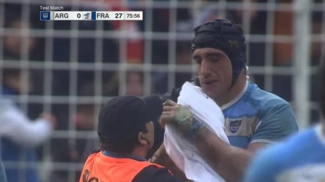 VIDEO. Argentine - France : Yoann Maestri cité... puis blanchi pour un mauvais geste sur Tomas Lavanini