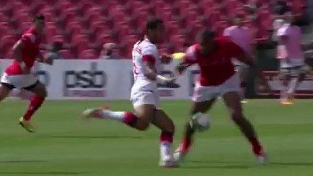 VIDEO. Pacific Nations Cup. Tonga - USA : Alipate Fatafehi éteint son adversaire avec un beau bouchon