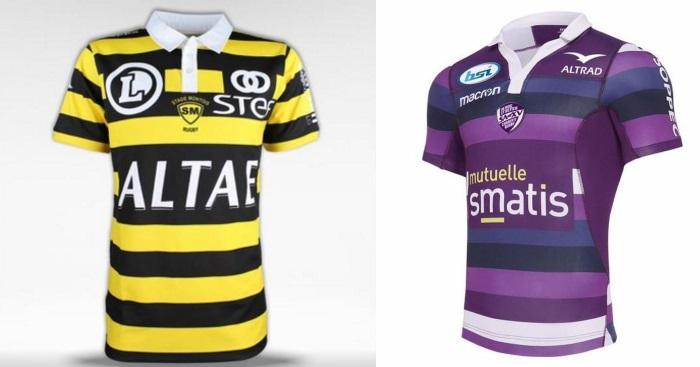 PHOTOS. Le TOP 10 des plus beaux maillots de la Pro D2, saison 2017/2018