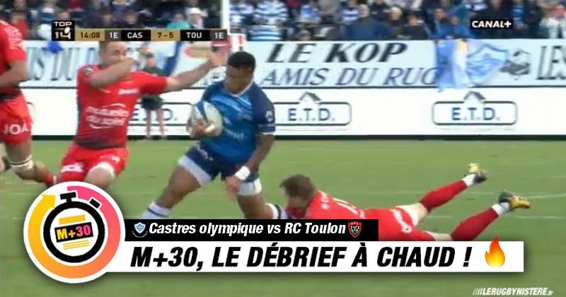 Top 14 - 11e journée. Castres vs Toulon - Le M+30 du Rugbynistère