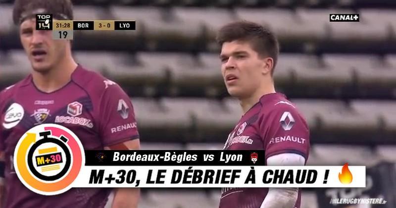 Top 14 - 15e journée. UBB vs Lyon - Le M+30 du Rugbynistère
