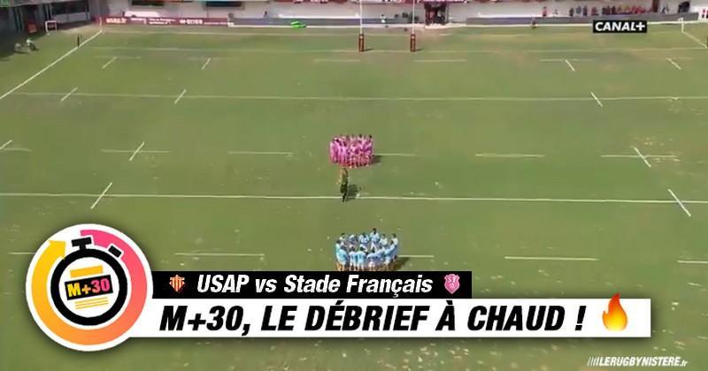 Top 14 - 1re journée. USAP vs Stade Français. Le M+30 du Rugbynistère