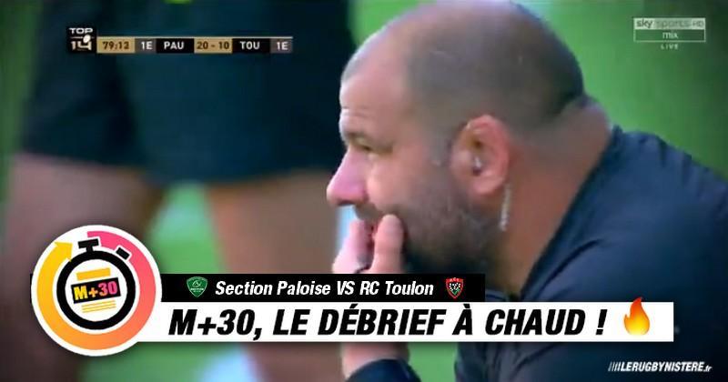 Top 14 - 2e journée. Pau vs RCT. Le M+30 du Rugbynistère
