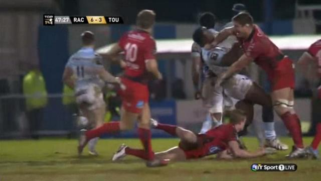 VIDEO. Top 14 : les ébats musclés de Racing-Métro vs RCT