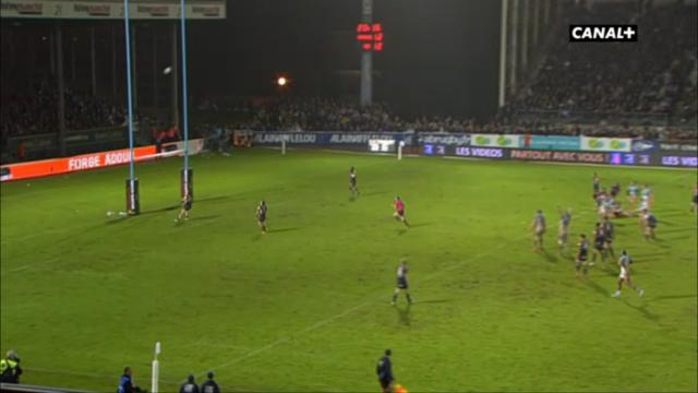 RESUME VIDEO. Top 14 - Aviron Bayonnais : Santiago Fernandez passe un drop de 40M et crucifie l'UBB