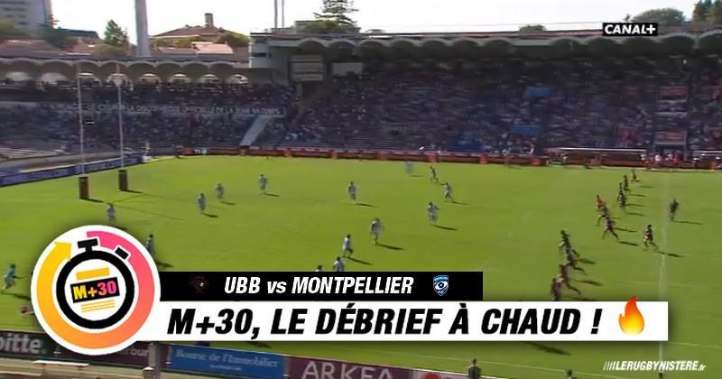 Top 14 - UBB vs MHR. Ce qu'il faut retenir du match avec le M+30 du Rugbynistère