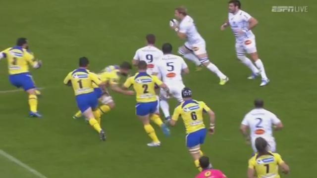 VIDEO. Top 14 - Clermont - Castres. Jamie Cudmore désosse Rory Kockott après seulement 6 secondes de jeu