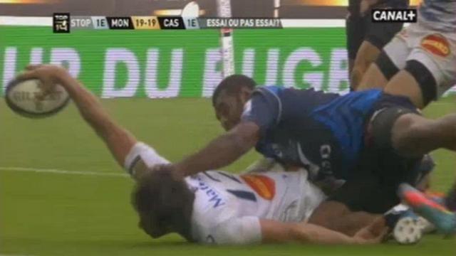VIDEO. Top 14 - Demi-finale. Les sauvetages in extremis de Montpellier face Castres Olympique