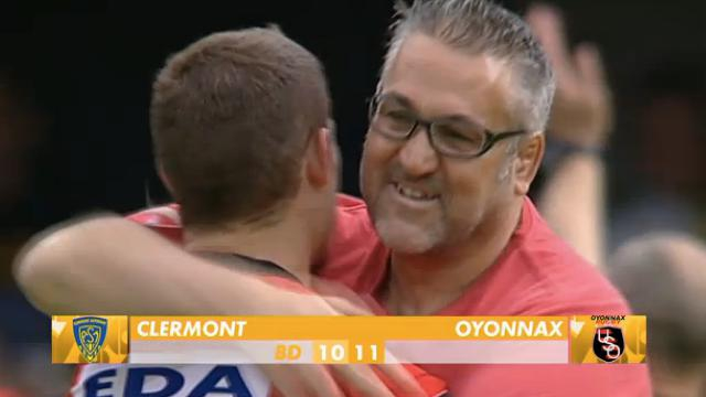 VIDÉO. TOP 14. Oyonnax réussit l'exploit et s'impose face à Clermont au stade Marcel-Michelin