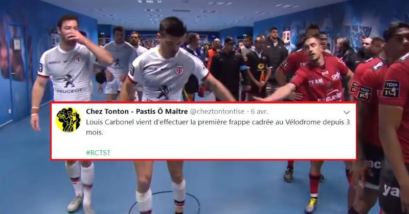 TOP 14 : la belle victoire du RCT face au Stade Toulousain vue par les réseaux sociaux