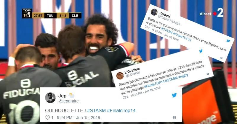 Top 14 - La finale historique du Stade Toulousain vue par les réseaux sociaux