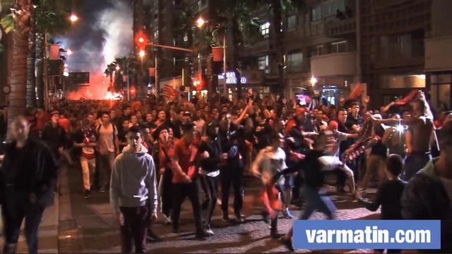 VIDEO. Top 14 - La folie des supporters après le sacre du RCT en finale contre Castres