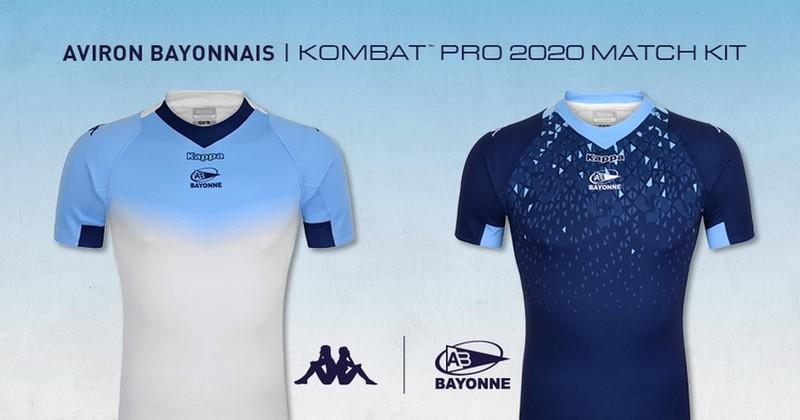 Top 14 - L'Aviron bayonnais dévoile ses nouveaux maillots pour 2019/2020