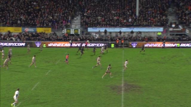 RESUME VIDEO. Top 14. Le CAB arrache le bonus offensif face au Stade français