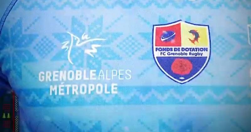 TOP 14 : le FC Grenoble dévoile son maillot collector pour le Boxing Day