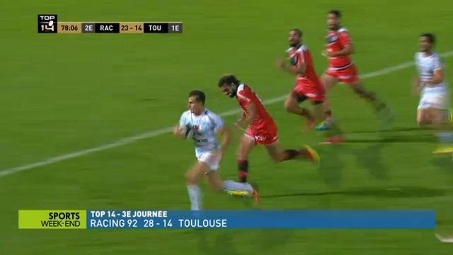 TOP 14. Racing 92 - Stade Toulousain : découvrez les meilleurs joueurs de la rencontre