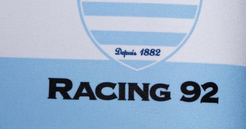TOP 14 : le Racing 92 dévoile ses nouveaux maillots pour la saison 2019/2020 !