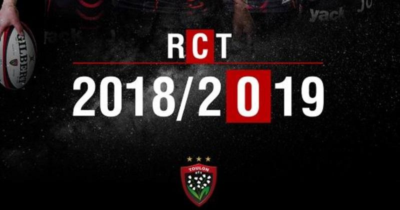 Top 14 : le RCT dévoile son nouveau maillot pour la saison 2018/2019