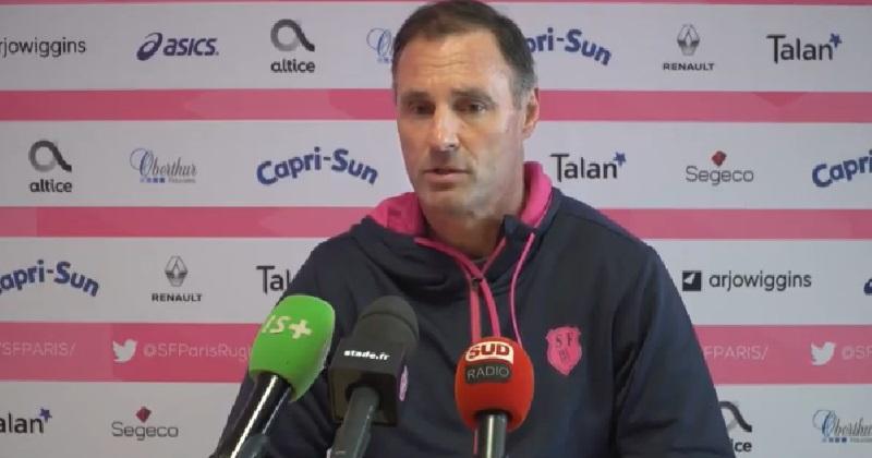 Greg Cooper s'en va — Stade Français