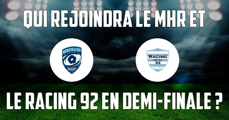Top 14 - Les affiches des barrages avec Montpellier, le Racing et Toulouse