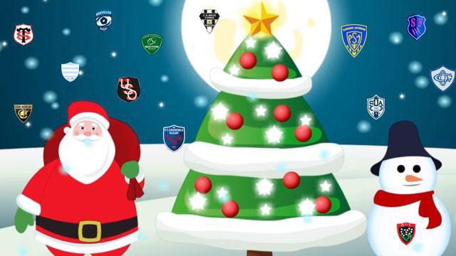 INSOLITE. Les cadeaux de Noël du Rugbynistère aux équipes du Top 14