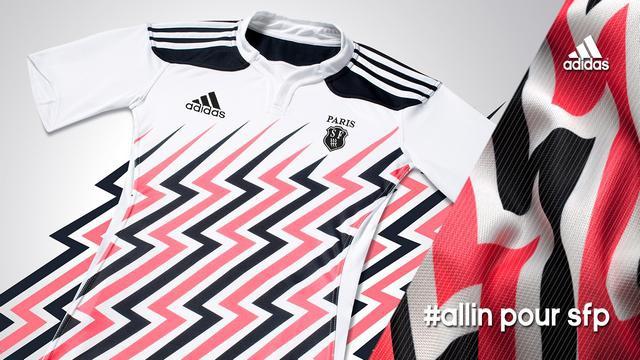 Top 14 - Les nouveaux maillots du Stade Français pour la saison 2014-2015