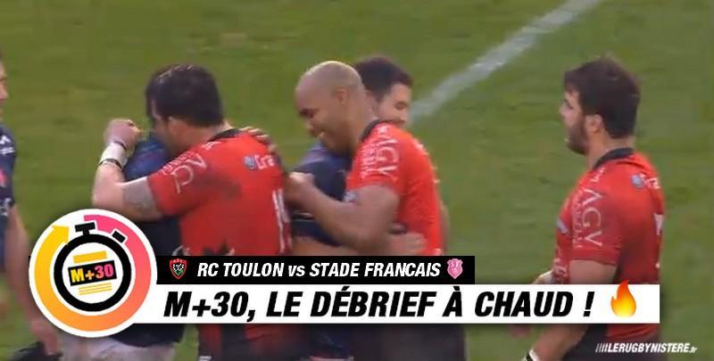Top 14 - 17e journée. Toulon vs Stade français. Le M+30 du Rugbynistère
