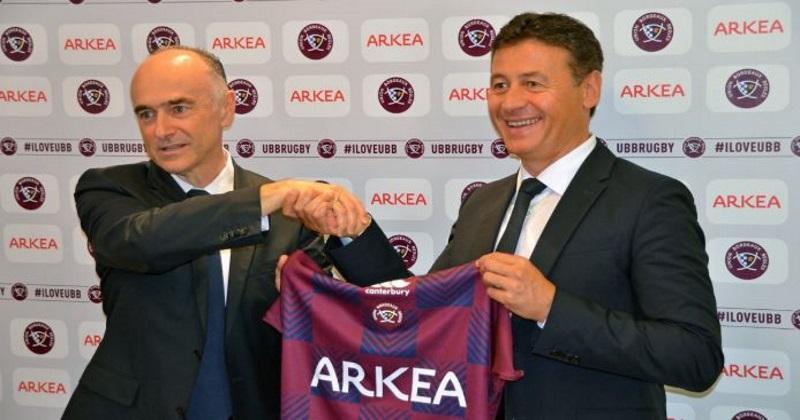 TOP 14 : nouveau maillot, nouveau sponsor... et nouvelles ambitions pour l'UBB