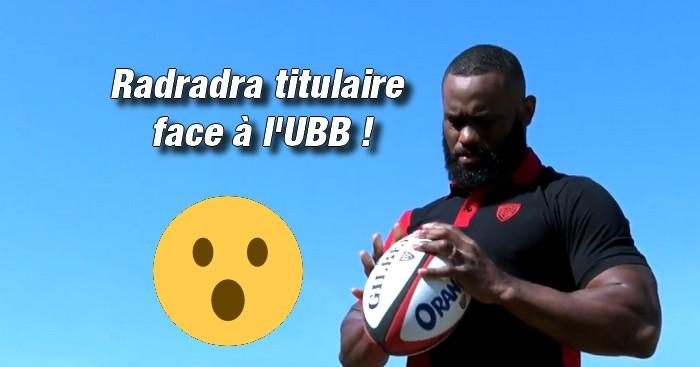 Top 14 - Toulon lance la bombe Semi Radradra et replace Anthony Belleau