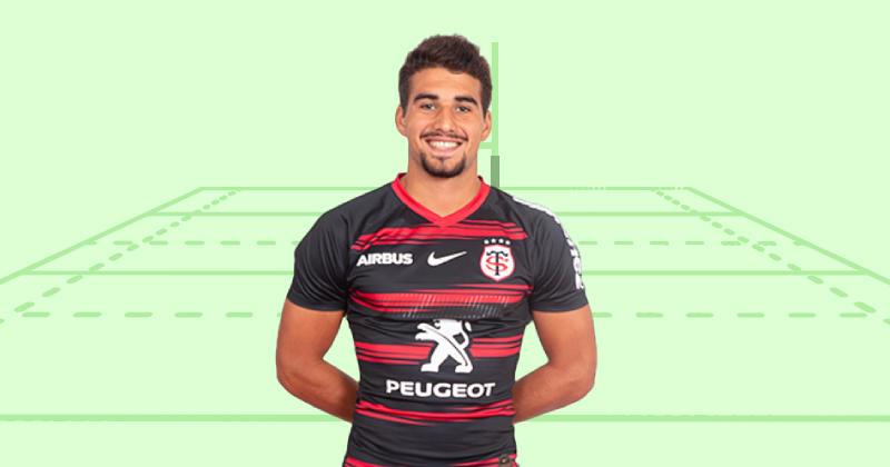 Il a fait ses premiers pas en Top 14, découvrez Simon Renda, centre du Stade Toulousain
