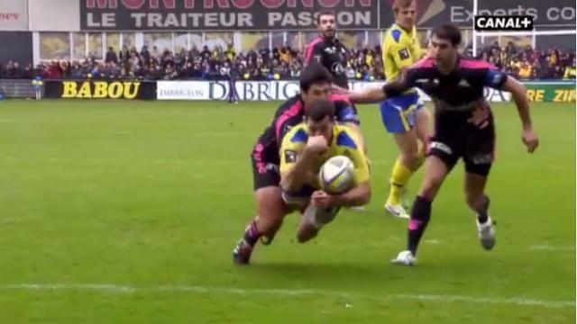 VIDEO. Top 14. ASM - Stade français : le sauvetage in extremis de Paul Williams sur Jean-Marcellin Buttin