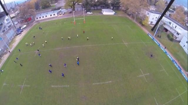 VIDEO. Top 14 : un drone survole le terrain d'entraînement du FCG