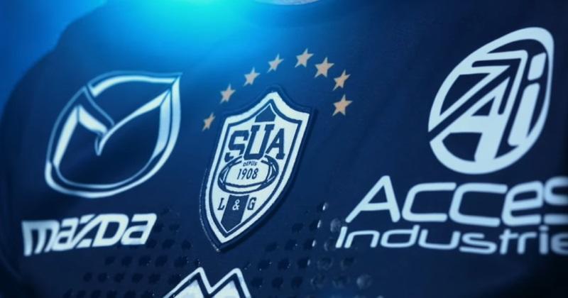 Top 14 : voici les trois nouveaux maillots du SU Agen pour la saison 2019/2020 !
