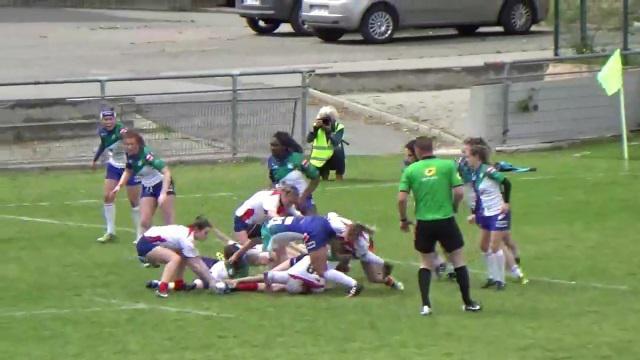 VIDEO. Top 8 - 1/2 finale aller : Blagnac prend une option sur la finale en battant Lille MRCV