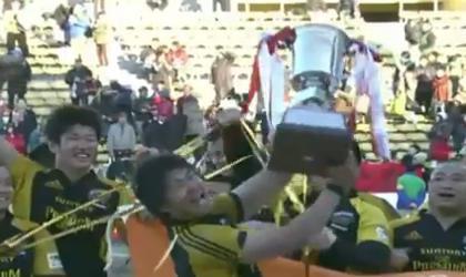 Les Suntory Sungoliath remportent la finale de la Top League