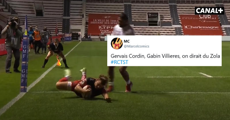 Toulon vs Toulouse et Racing vs Clermont vus par les réseaux sociaux