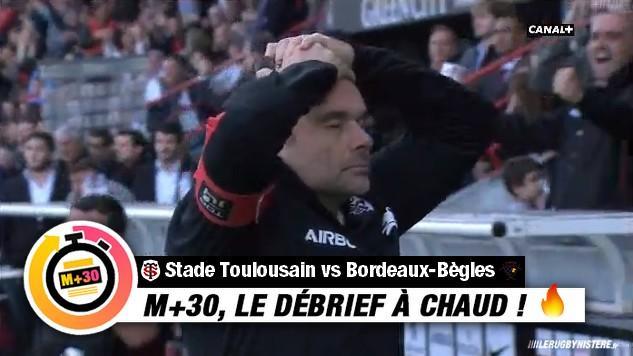 Top 14 - 9e journée. Toulouse vs UBB. Le M+30 du Rugbynistère