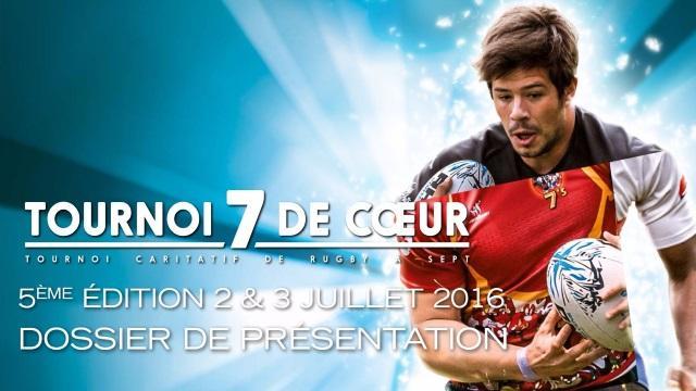 L'Agenda du rugby : le Tournoi 7 de Cœur arrive les 2 et 3 juillet prochain