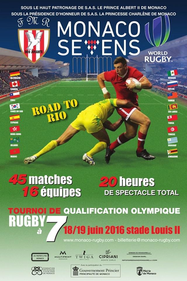 VIDEO. Rugby à 7 - 16 nations mais un seul billet pour Rio au tournoi de Monaco