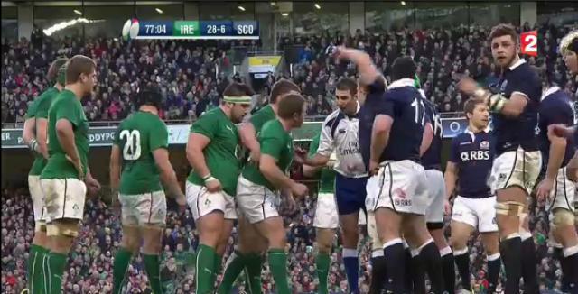 Tournoi des VI Nations : Les 5 points à retenir du match entre l'Irlande et l'Ecosse