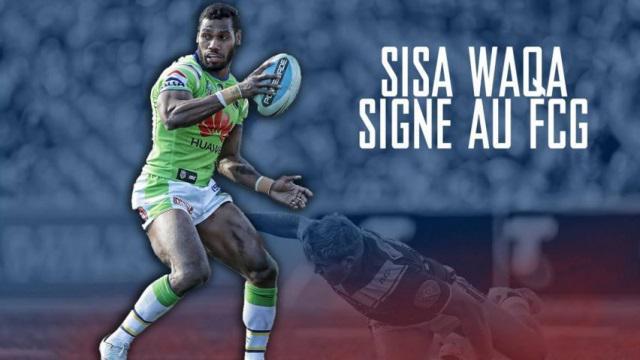 VIDEO. Transferts - Top 14 : Vedette de la NRL, Sisa Waqa signe au FC Grenoble
