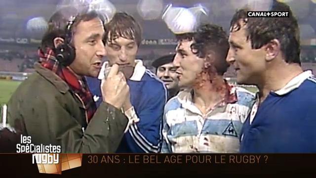 VIDEO. Trente années de rugby vues par Canal+
