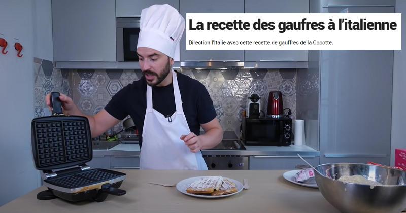 TUTO. Comment faire des gaufres maison à la Française ?