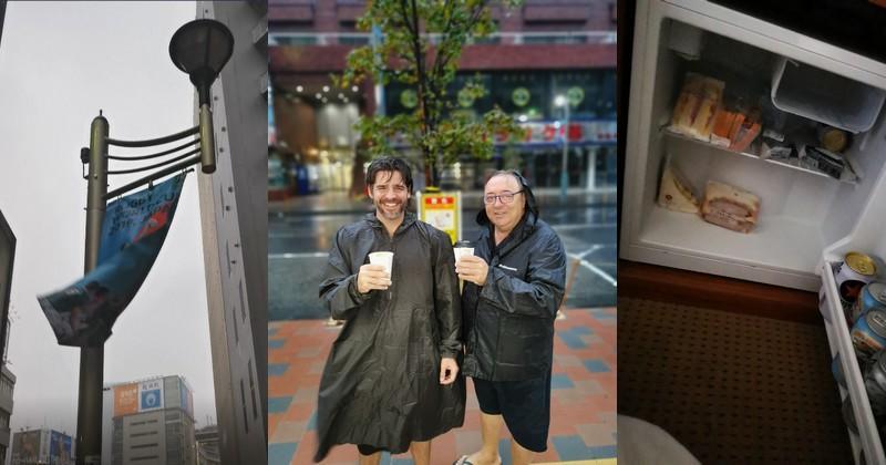 Comment un supporter des Bleus se prépare à vivre son premier typhon au Japon